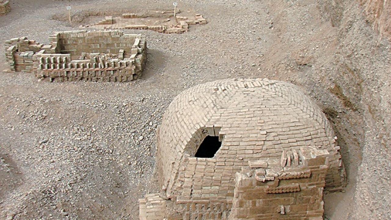 В древнем захоронении на Великом шёлковом пути найдены рисунки