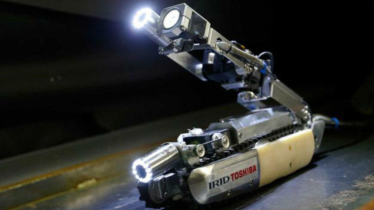 """Робот-скорпион спустится в инфернальные недра аварийной АЭС """"Фукусима"""""""