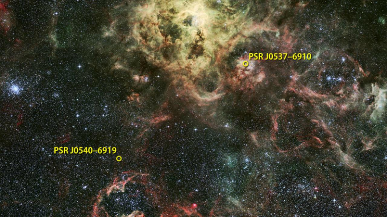 Астрономы открыли первый внегалактический гамма-пульсар