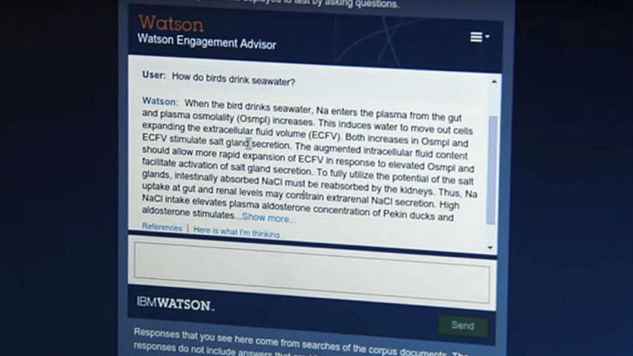 Суперкомпьютер Watson предложил студентам креативные решения проблем человечества