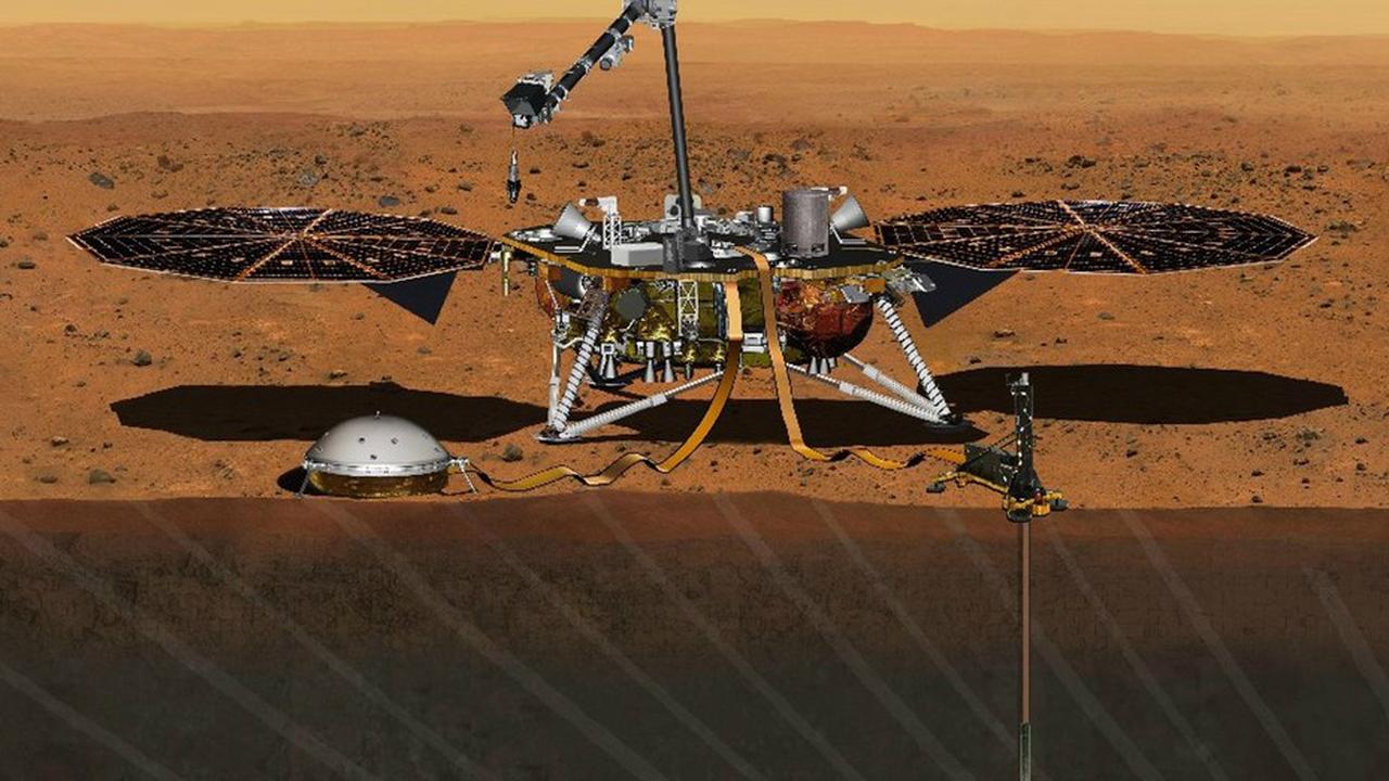 NASA откладывает отправку посадочного модуля к Марсу