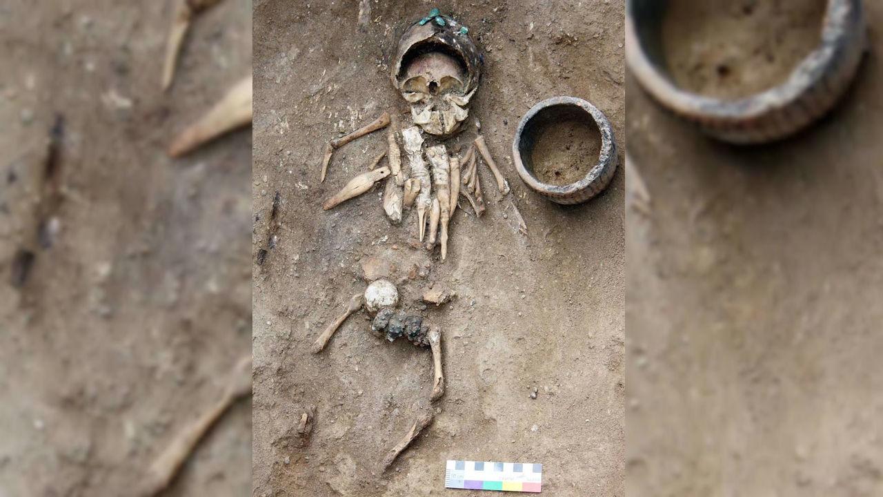 Археологическая сенсация из Хакасии: изучено детское погребение возрастом 4500 лет