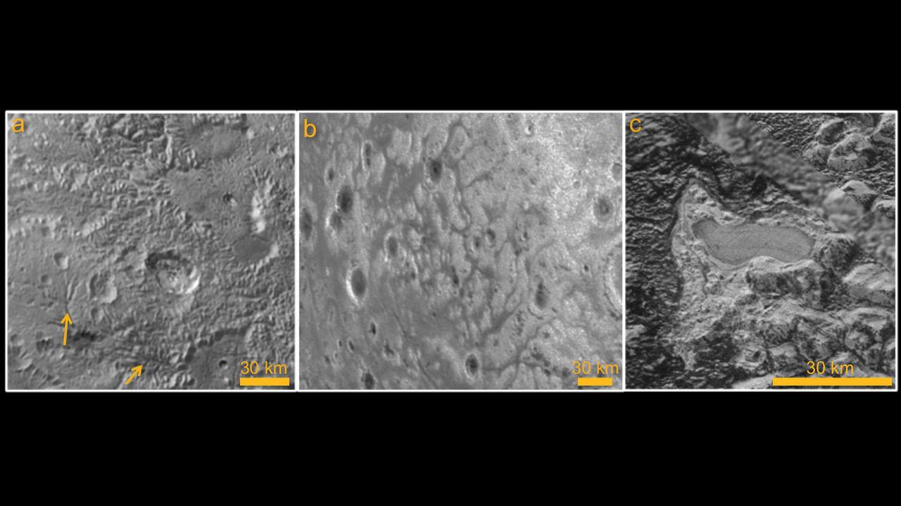 На Плутоне учёные нашли озеро из замёрзшего жидкого азота