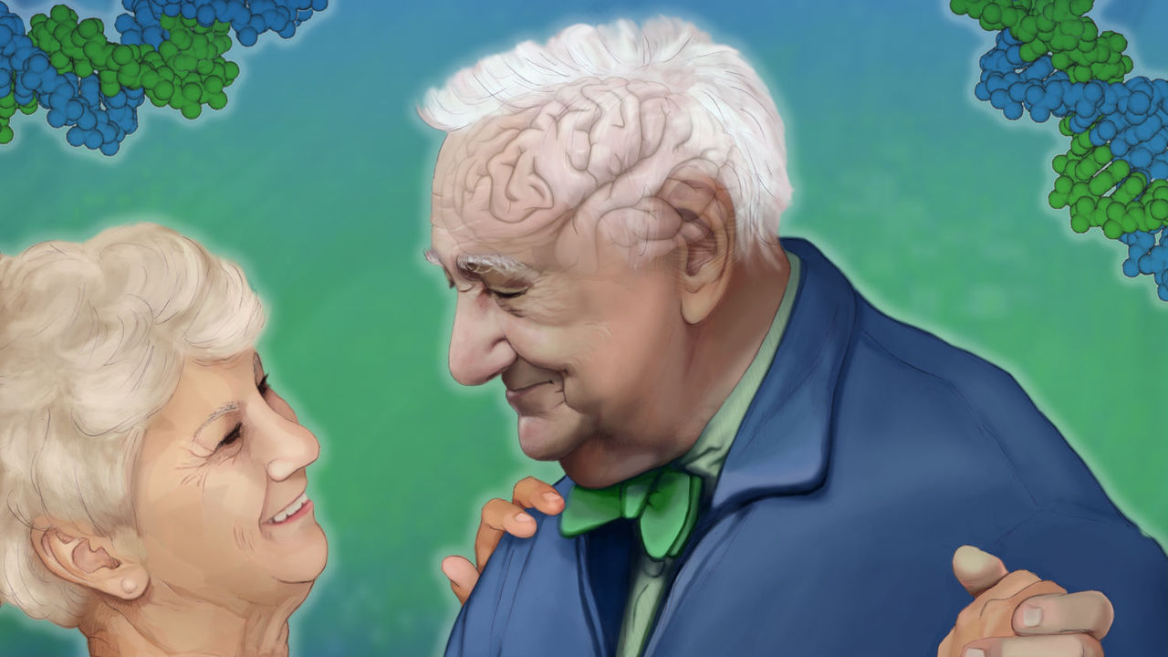 Защита от старческих болезней заложена в генах
