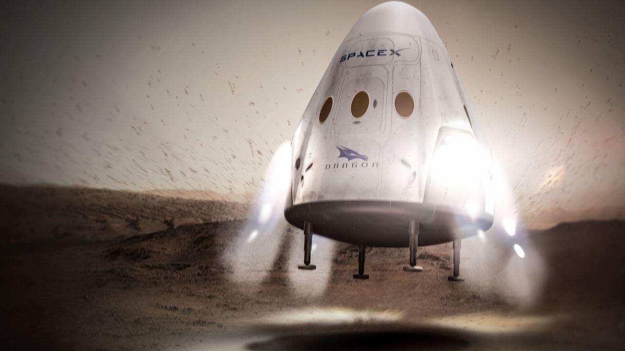 """""""Красный дракон"""" на Красной планете: компания SpaceX анонсировала первый полёт на Марс"""