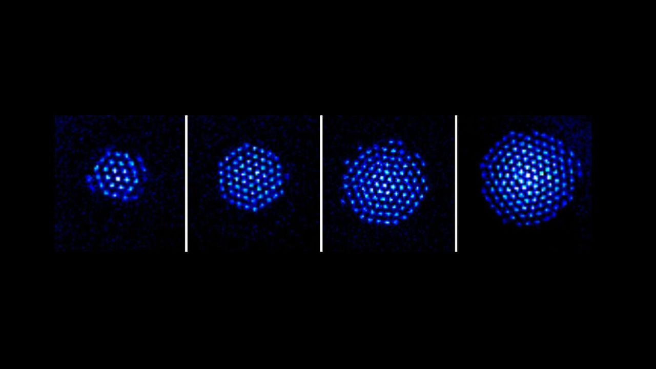 В квантовый симулятор учёные загнали сотни ионов