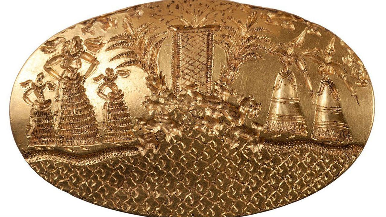 Властелин колец, но из Греции: в древней могиле найдены 2000 артефактов и удивительные золотые украшения