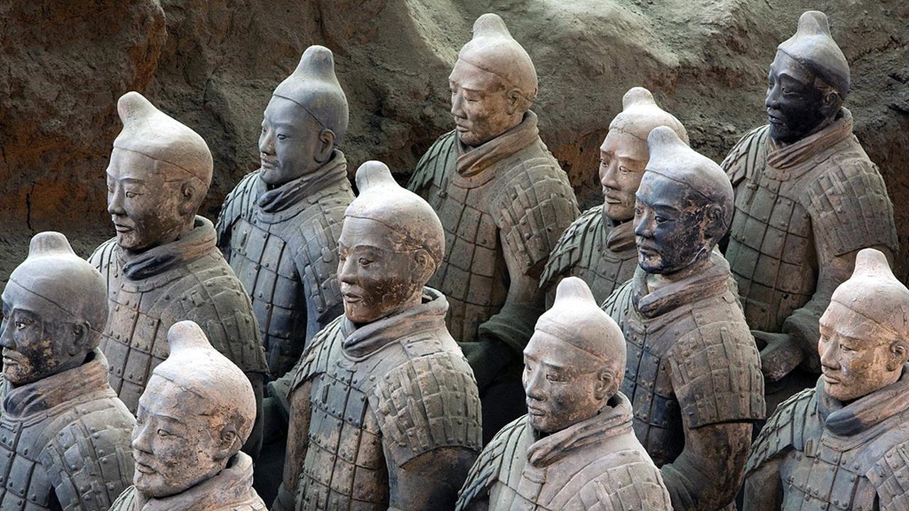Грек и китаец – братья навек: кто создал Терракотовую армию первого императора Китая?