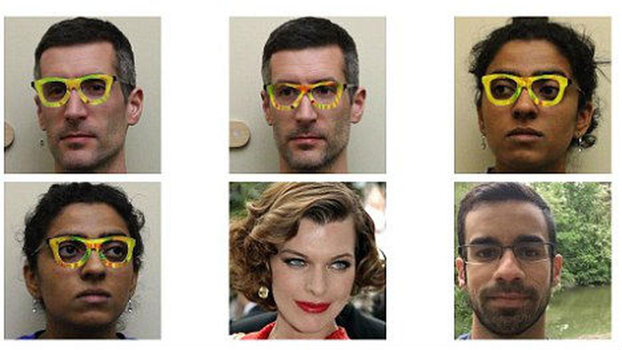 Необычные очки заставляют систему распознавания лиц считать, что вы Милла Йовович