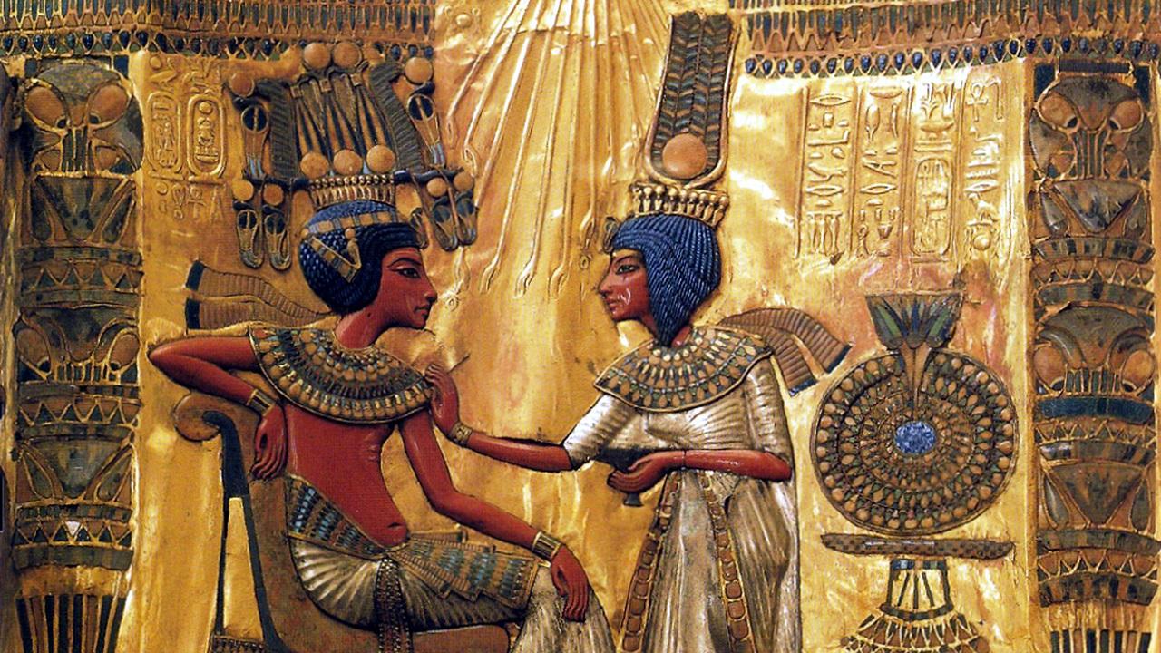 В Долине царей что-то нашли: (возможно) гробницу (возможно) жены Тутанхамона