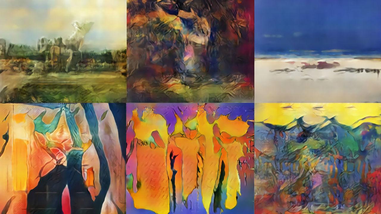 """Новое слово в живописи: искусственный интеллект """"пишет"""" картины в уникальном стиле"""