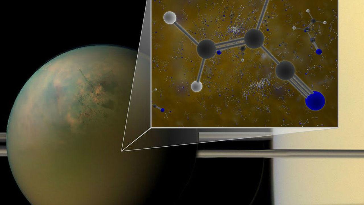 Строительные блоки удивительной внеземной жизни найдены на Титане
