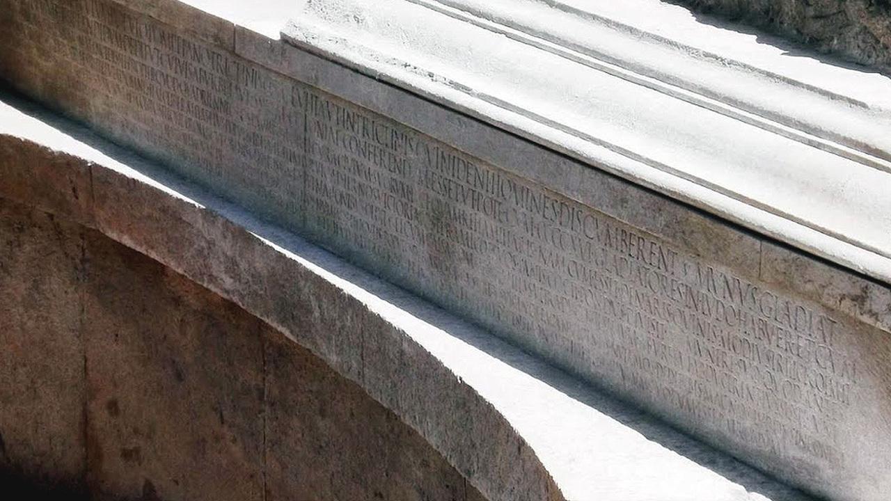 В Помпеях нашли самую длинную в мире эпитафию с описанием известного скандального события