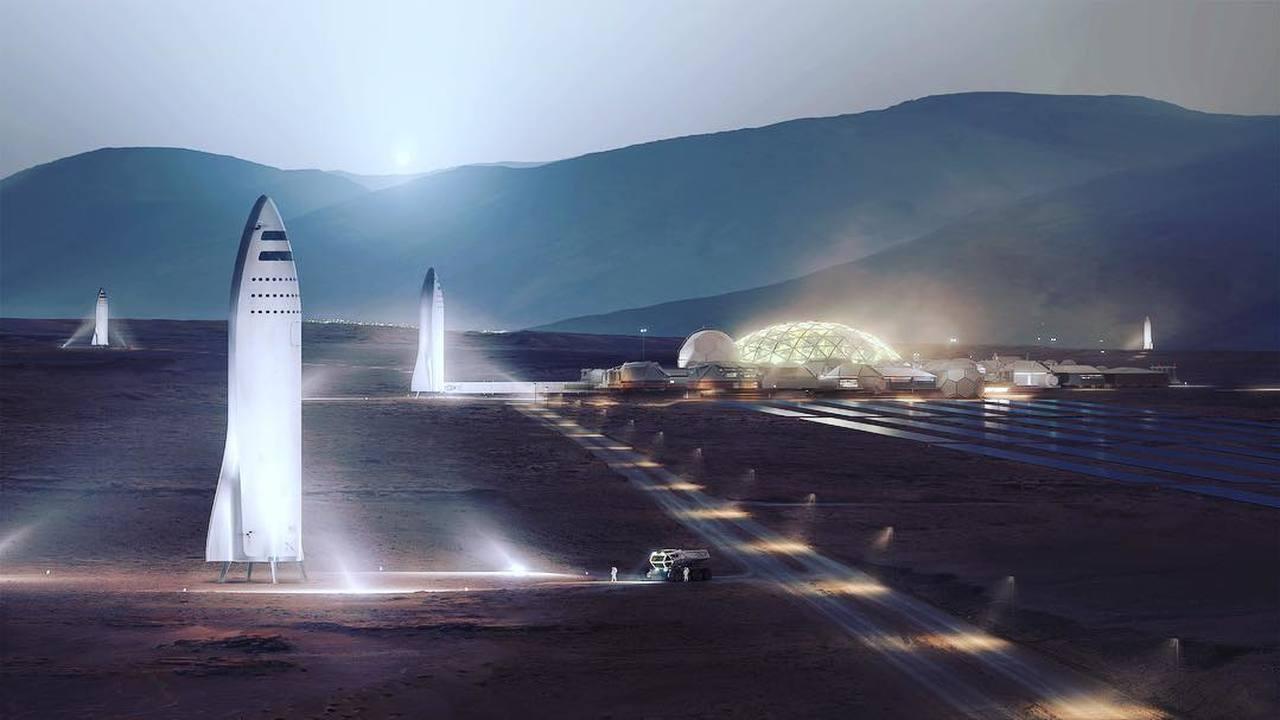 Новые замыслы Илона Маска: полёт на Марс в 2022 году и земные путешествия на ракетах