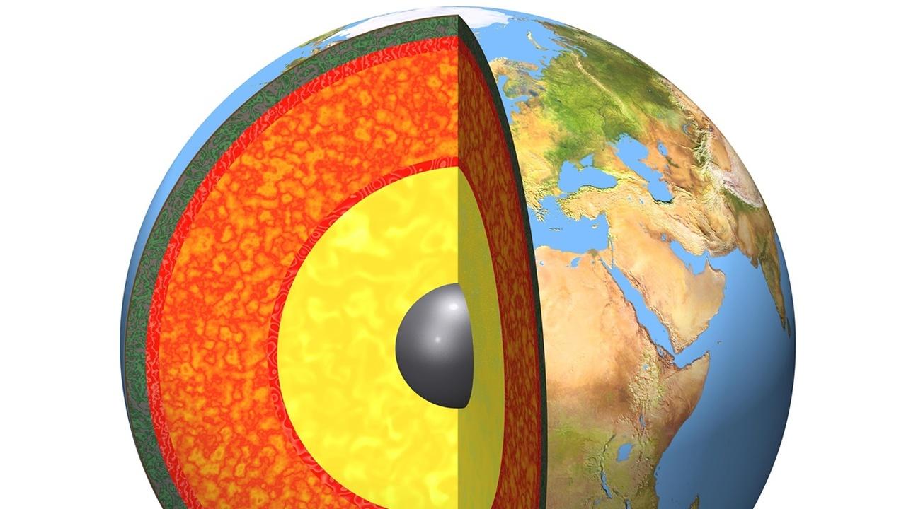 Геофизики нашли на границе ядра и мантии Земли гигантские резервуары кислорода