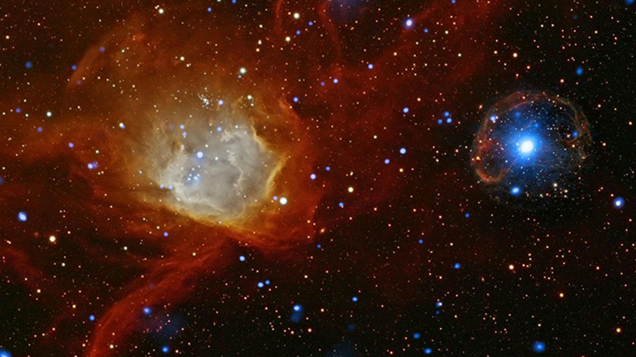 Астрофизики объяснили происхождение сразу трёх видов космических частиц с экстремальной энергией
