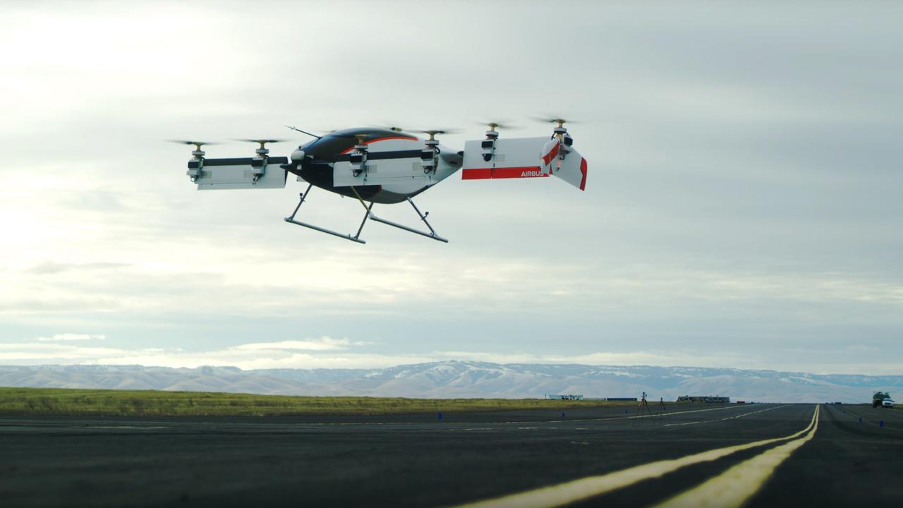 В США состоялись испытания первого аэротакси. Видео