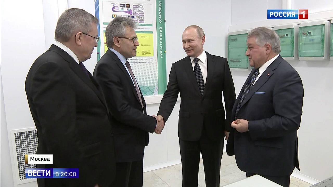 В Курчатовском институте работают по завету основателя - мыслят на 100 лет вперед
