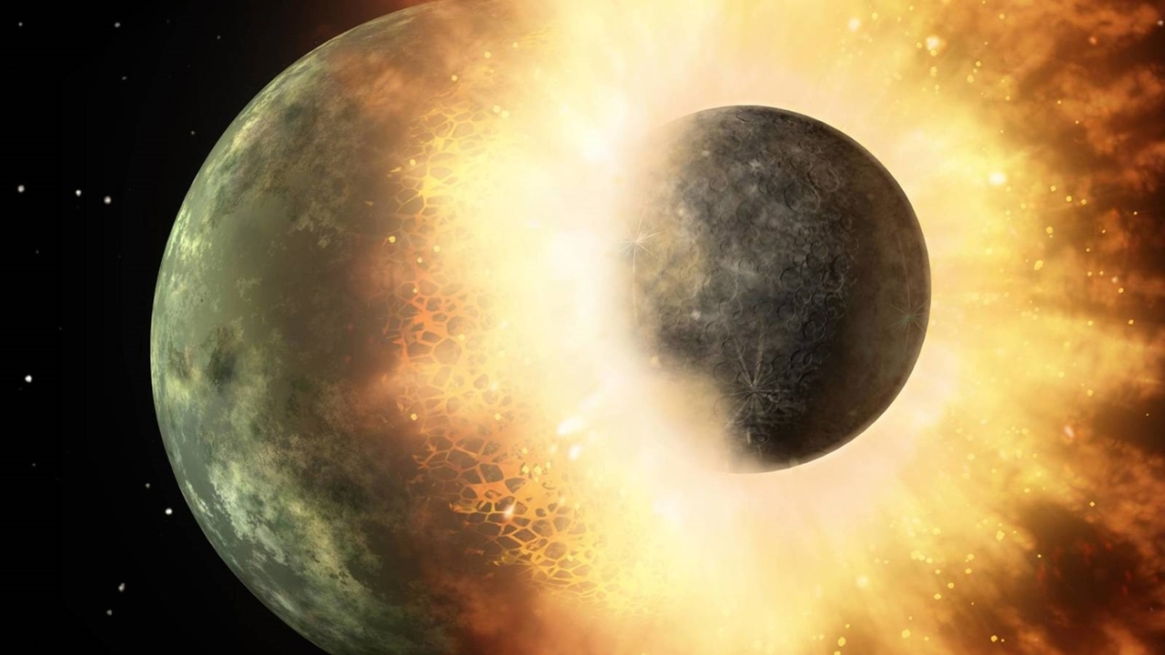 """Алмазные метеориты из Африки оказались останками """"потерянной"""" планеты Солнечной системы"""