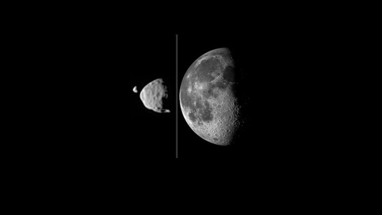 Спутники Марса образовались из-за удара астероида