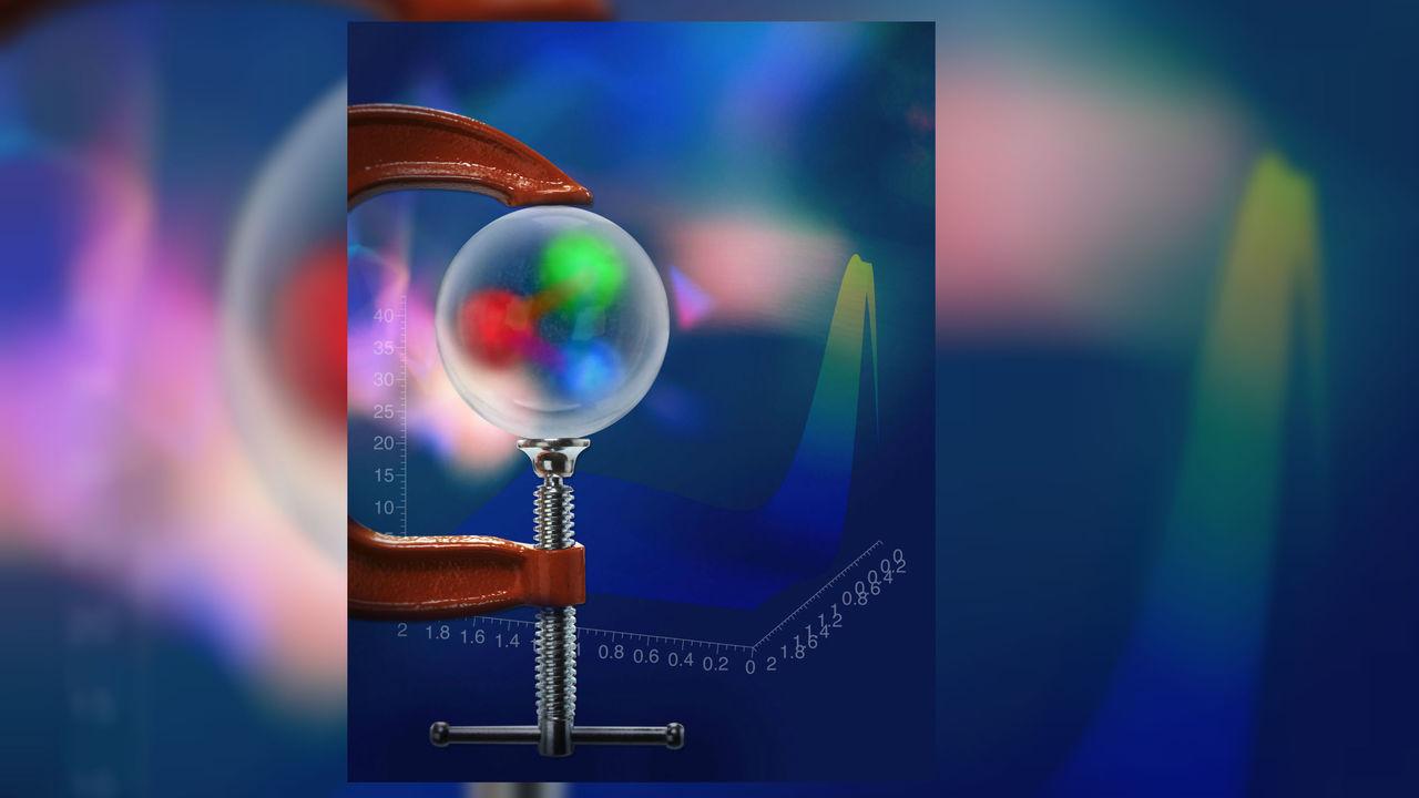 Физики впервые измерили давление внутри элементарной частицы
