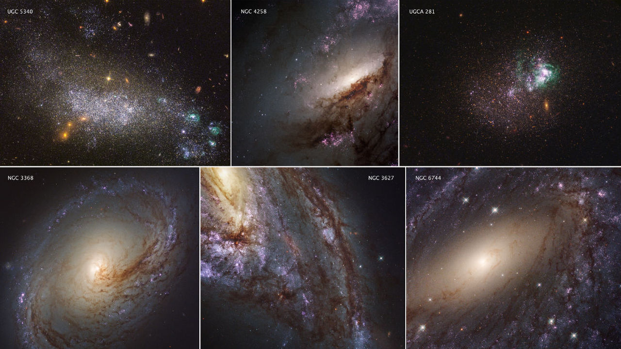 Создан первый каталог звёзд и их скоплений в ультрафиолетовых лучах