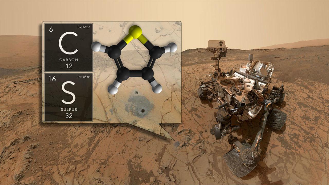 На Марсе нашли рекордное количество органики и сезонные колебания уровня метана