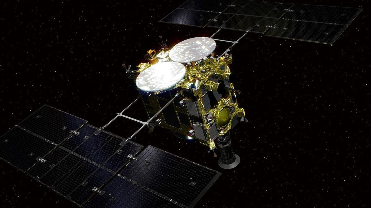 """Зонд """"Хаябуса-2"""" снял первое видео астероида, к которому направляется"""