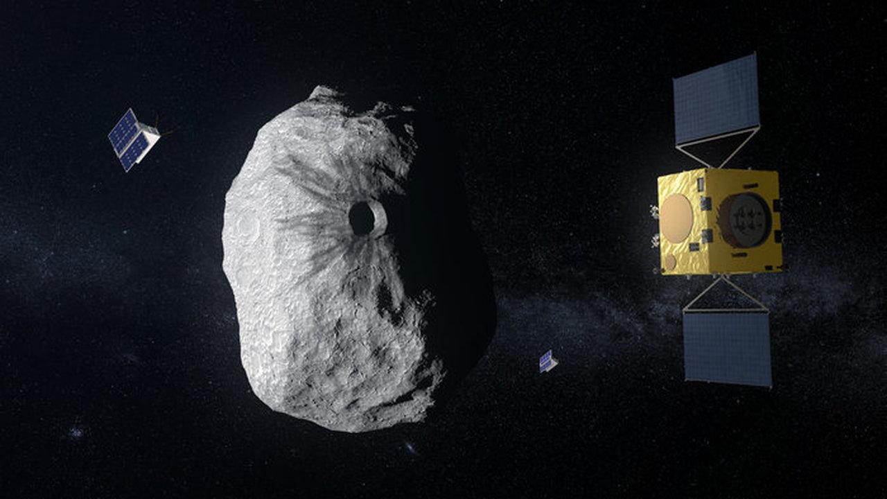 Новый аппарат зафиксирует, как человечество изменило орбиту астероида
