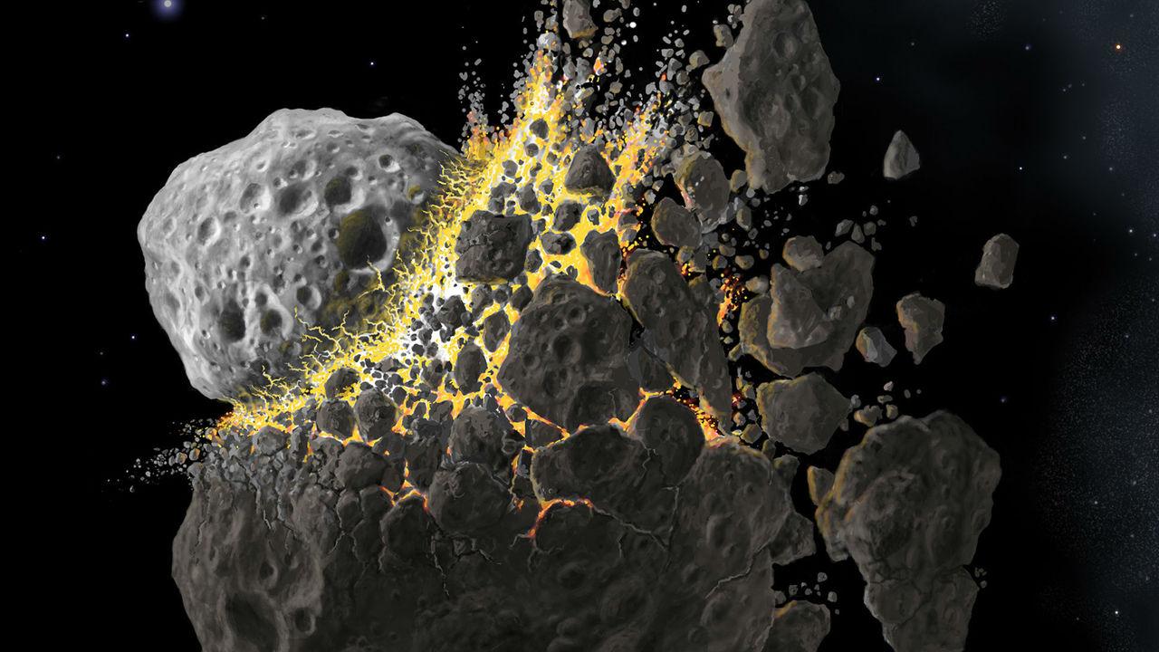 """85% астероидов в поясе, """"снабжающем"""" Землю метеоритами, – осколки пяти древних планет"""
