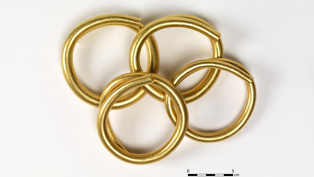 В Ирландии впервые с 1990 года нашли золото бронзового века