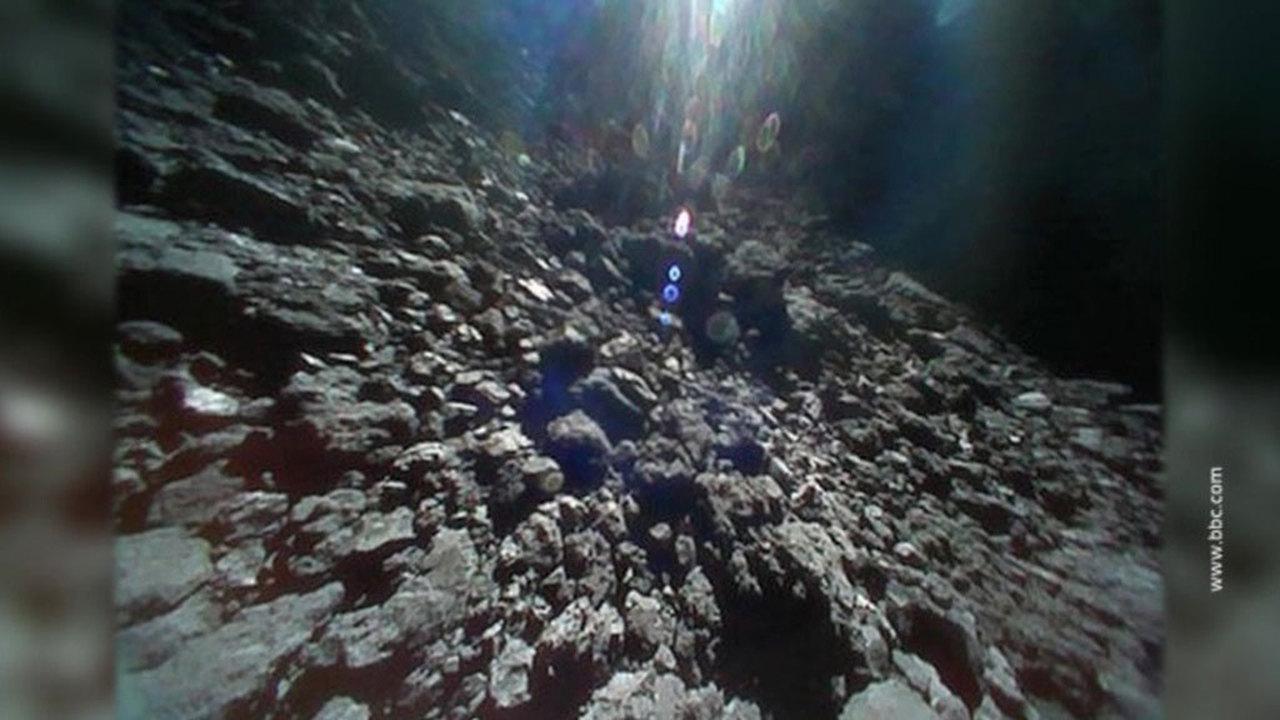 JAXA обнародовало видео с поверхности древнейшего во Вселенной астероида