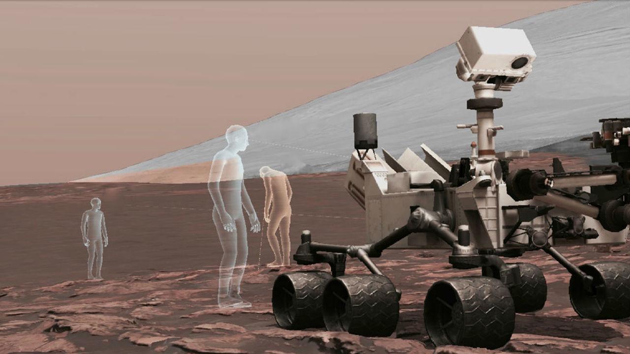 Премию NASA присудили за технологию виртуальной реальности, позволяющую гулять по Марсу