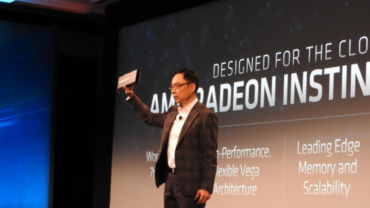 AMD представил свои первые процессоры на 7-нм процессе
