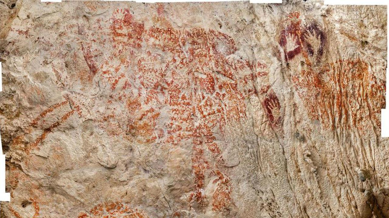 В пещере Борнео найдено древнейшее изображение таинственного животного