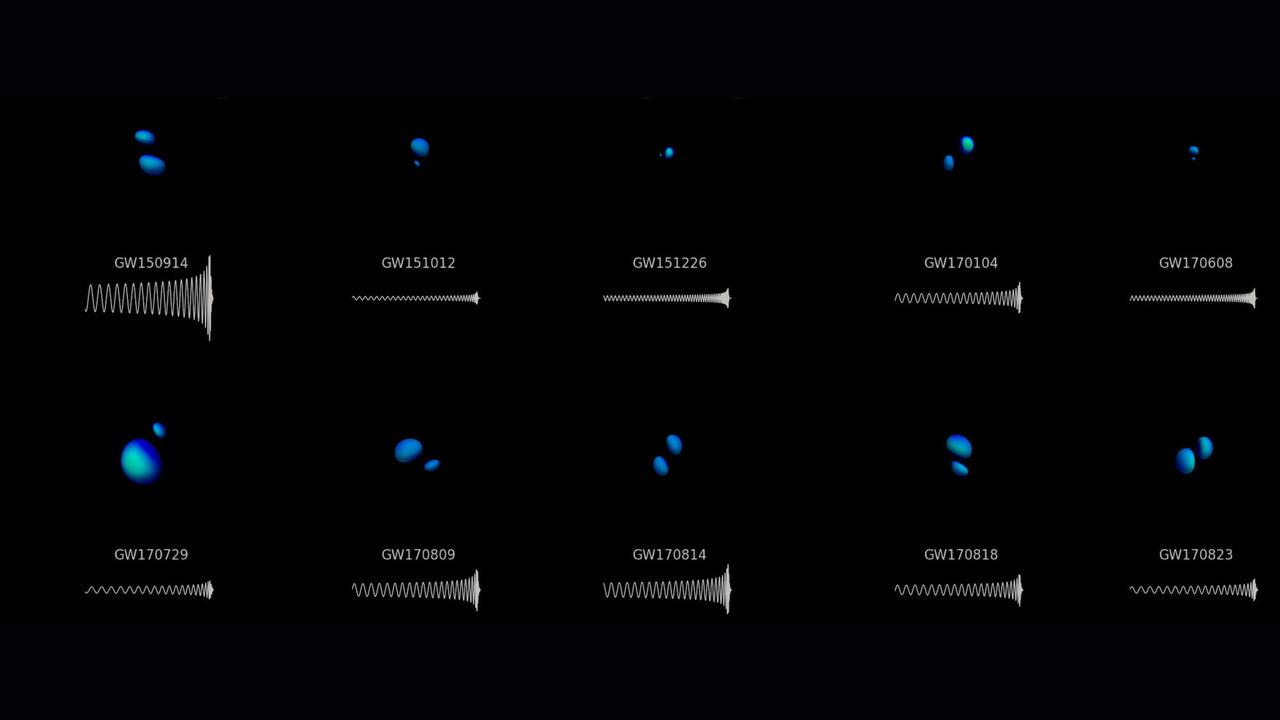 """Значительное пополнение: LIGO и VIRGO """"поймали"""" ещё четыре всплеска гравитационных волн"""