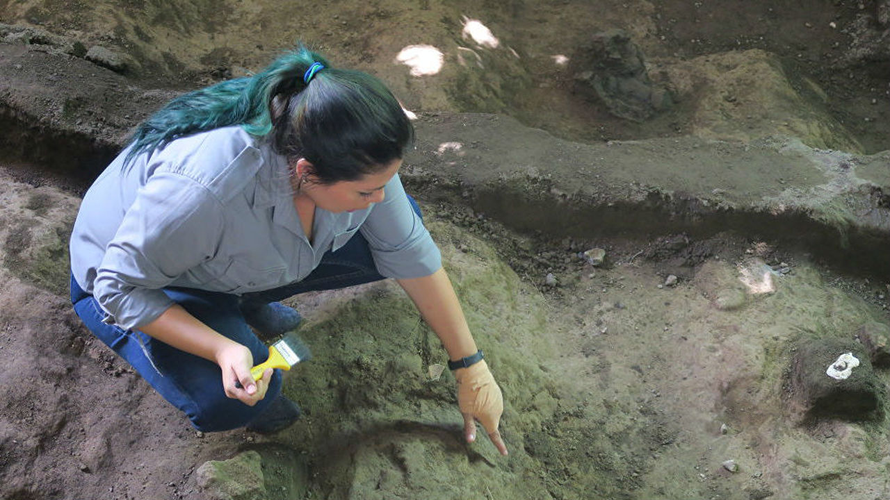 """В """"помпеях майя"""" впервые обнаружили человеческие останки"""