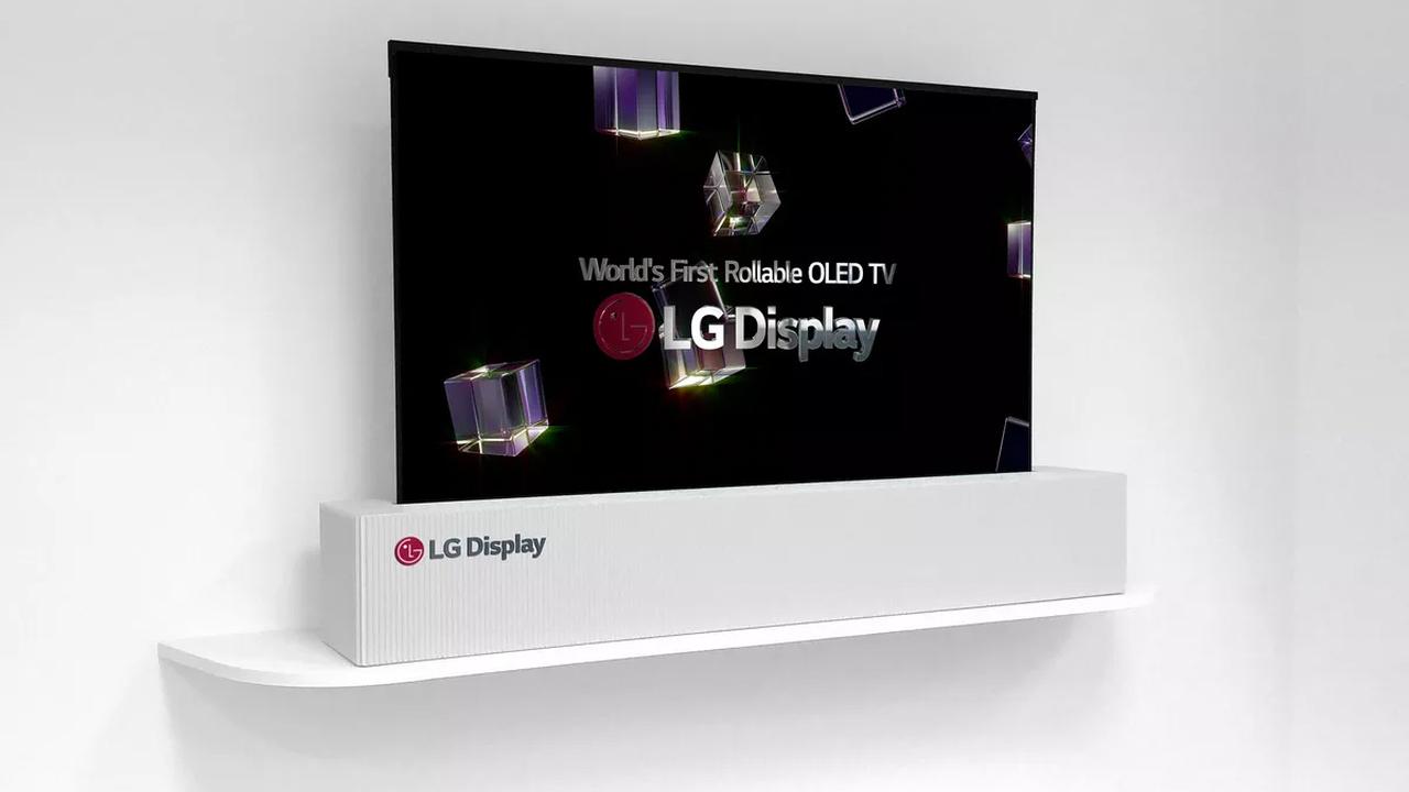 В2016г. LGвыпустит телевизоры, которые можно свернуть втрубочку