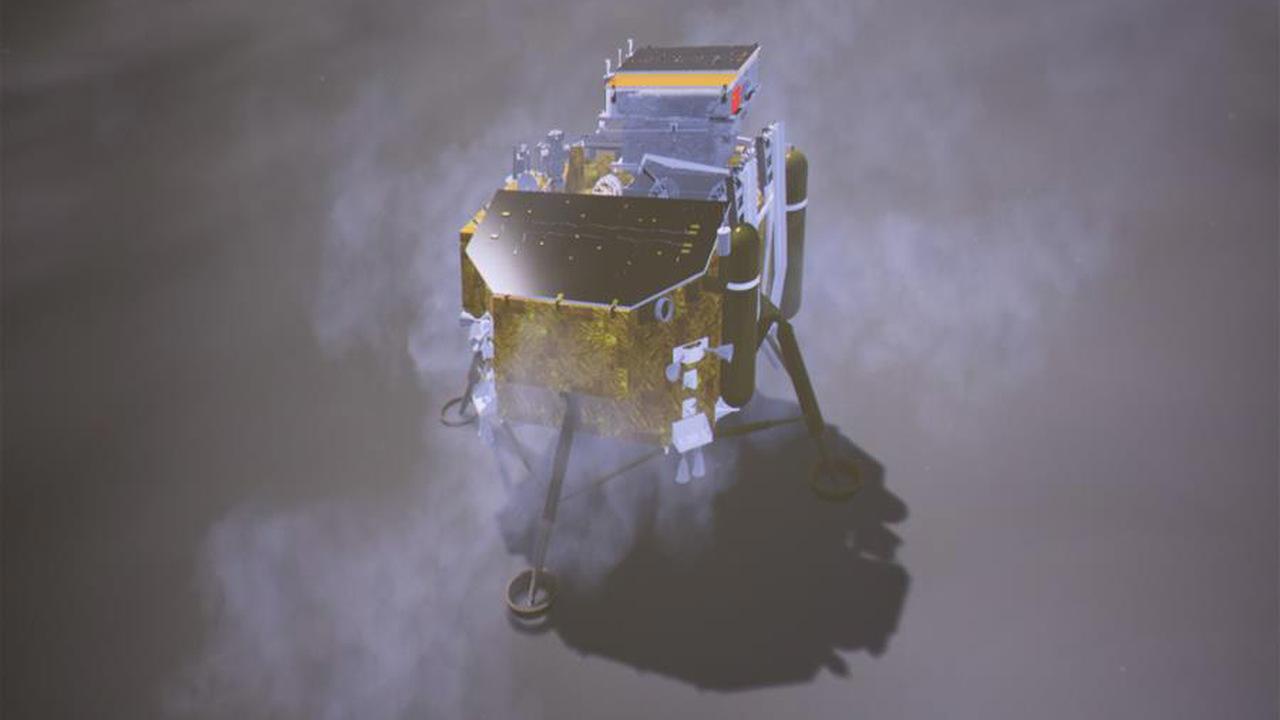 Китай впервые в истории посадил аппарат на обратную сторону Луны