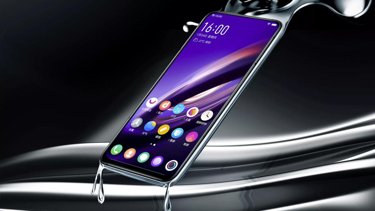 """Vivo анонсировала """"смартфон будущего"""": 5G, полноэкранный датчик отпечатков и ни одного порта"""