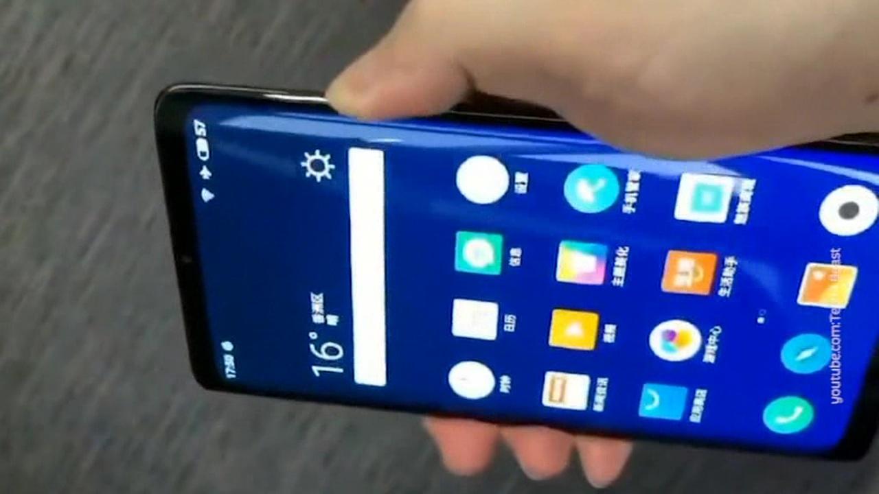 Meizu разработала смартфон без единого отверстия