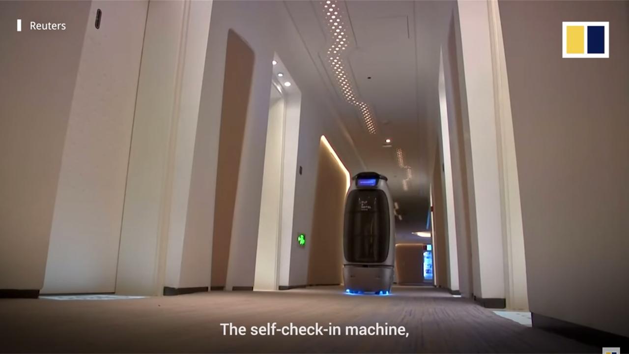 """Роботы, лицо вместо ключа и управление голосом: как устроен китайский """"отель будущего"""""""