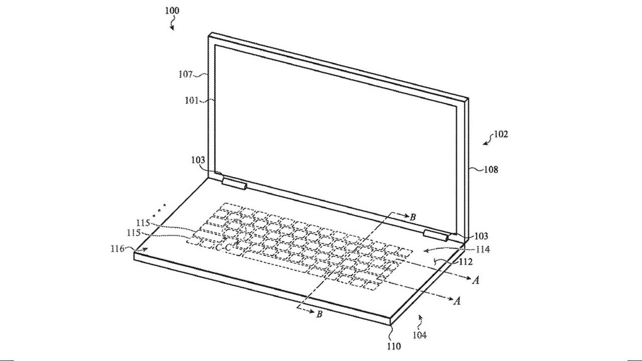 Apple разработала стеклянную клавиатуру для MacBook