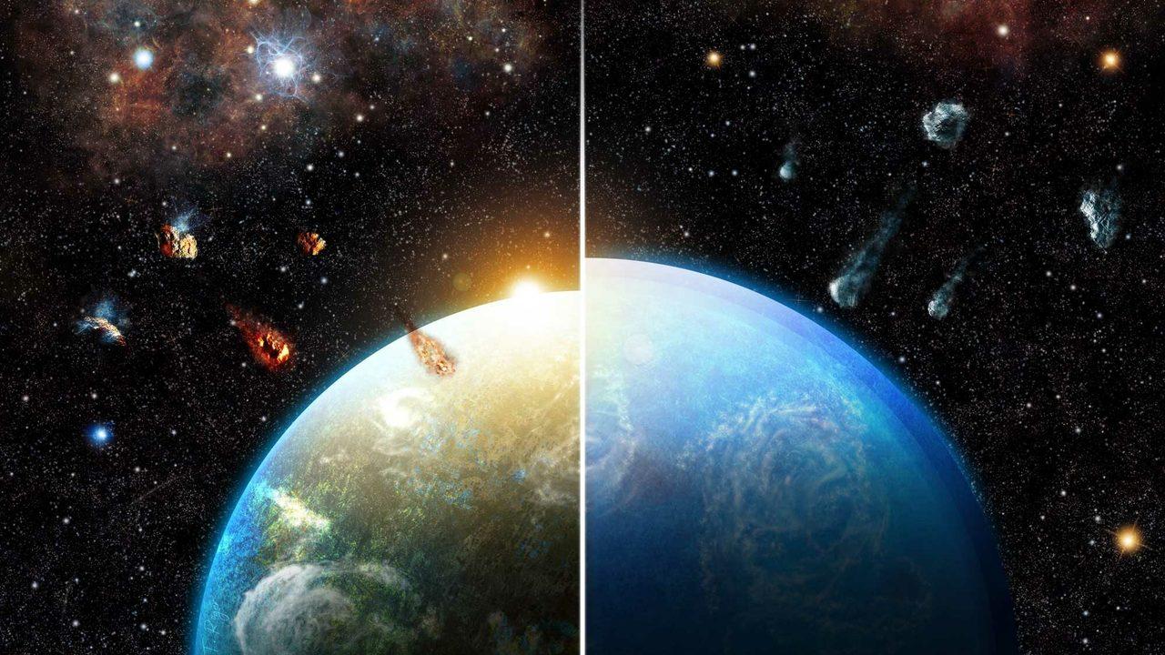 Земля получилась пригодной для жизни благодаря взрыву сверхновой