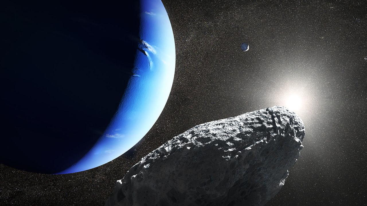 Новый спутник Нептуна назвали в честь лошади с рыбьим хвостом