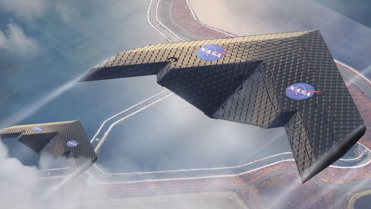 Создано крыло самолёта, способное автоматически адаптироваться к любому полёту