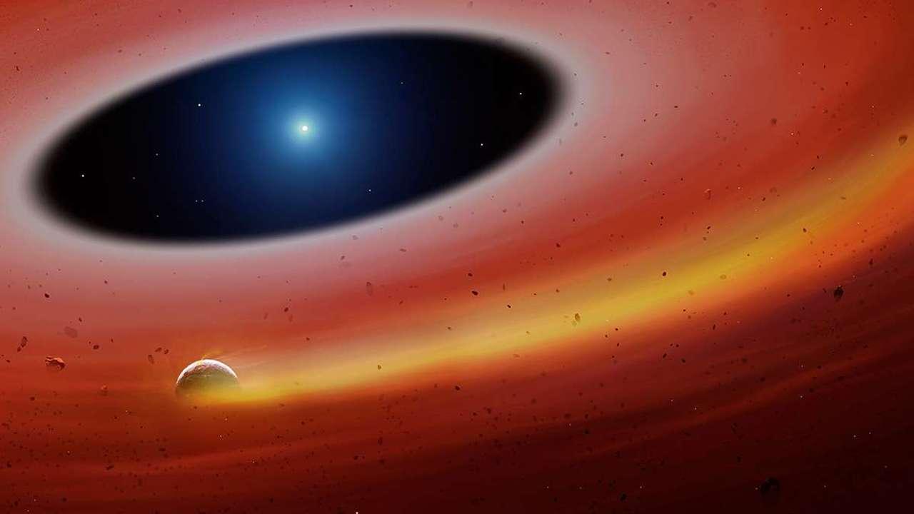 Сказки на ночь: обнаружен осколок хэви-метал-планеты, переживший смерть своей звезды