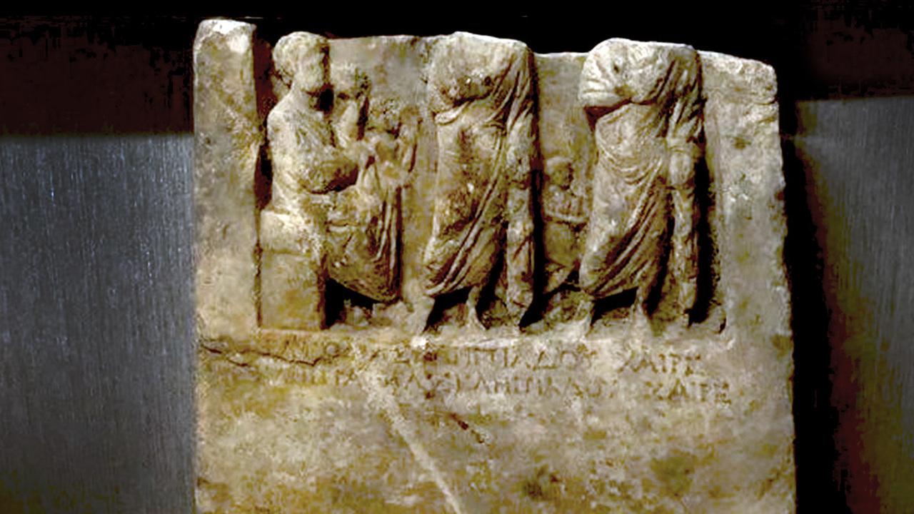 Надгробие армянского царя из Коммагены? Турецкая полиция перехватила загадочный 2000-летний артефакт