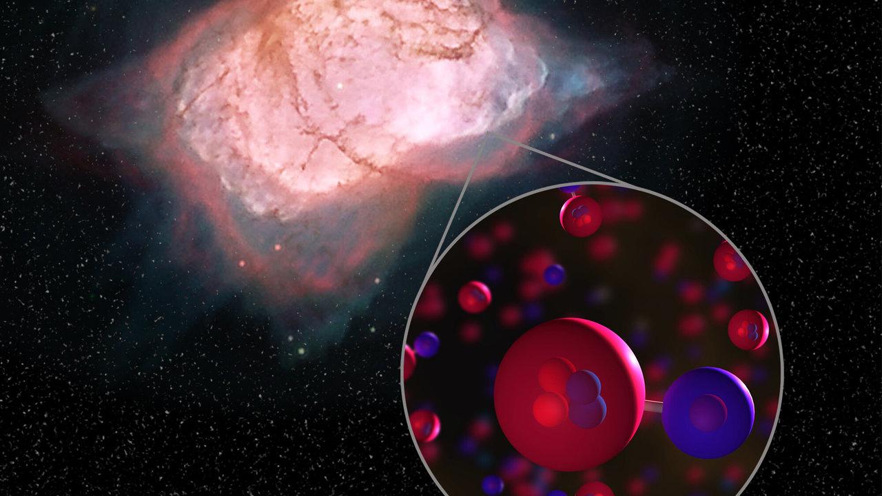 Астрономы обнаружили древнейшую молекулу во Вселенной