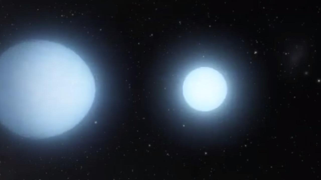 Найдена пара мёртвых звёзд, которая уместилась бы в планету